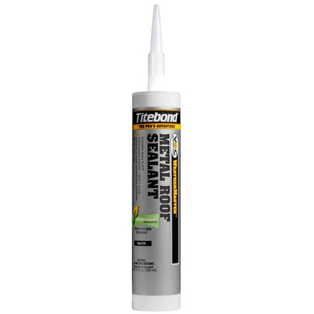Titebond 10 1 Oz Metal Roof Translucent Sealant 12 Pack