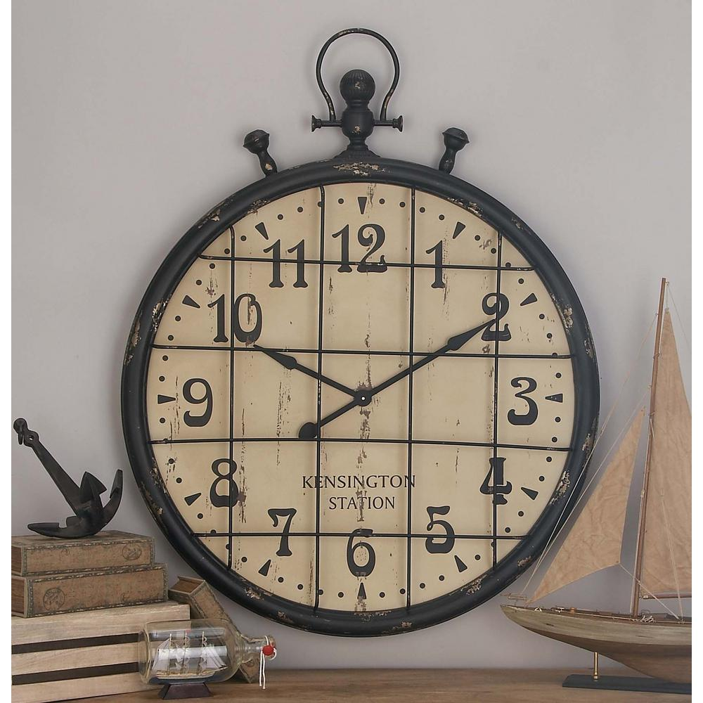 Large Industrial Wall Clocks Compare Prices At Nextag