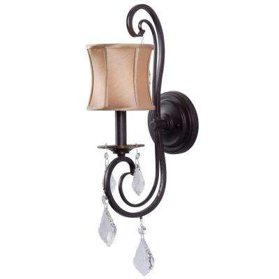 Annelise 1-Light Bronze Sconce