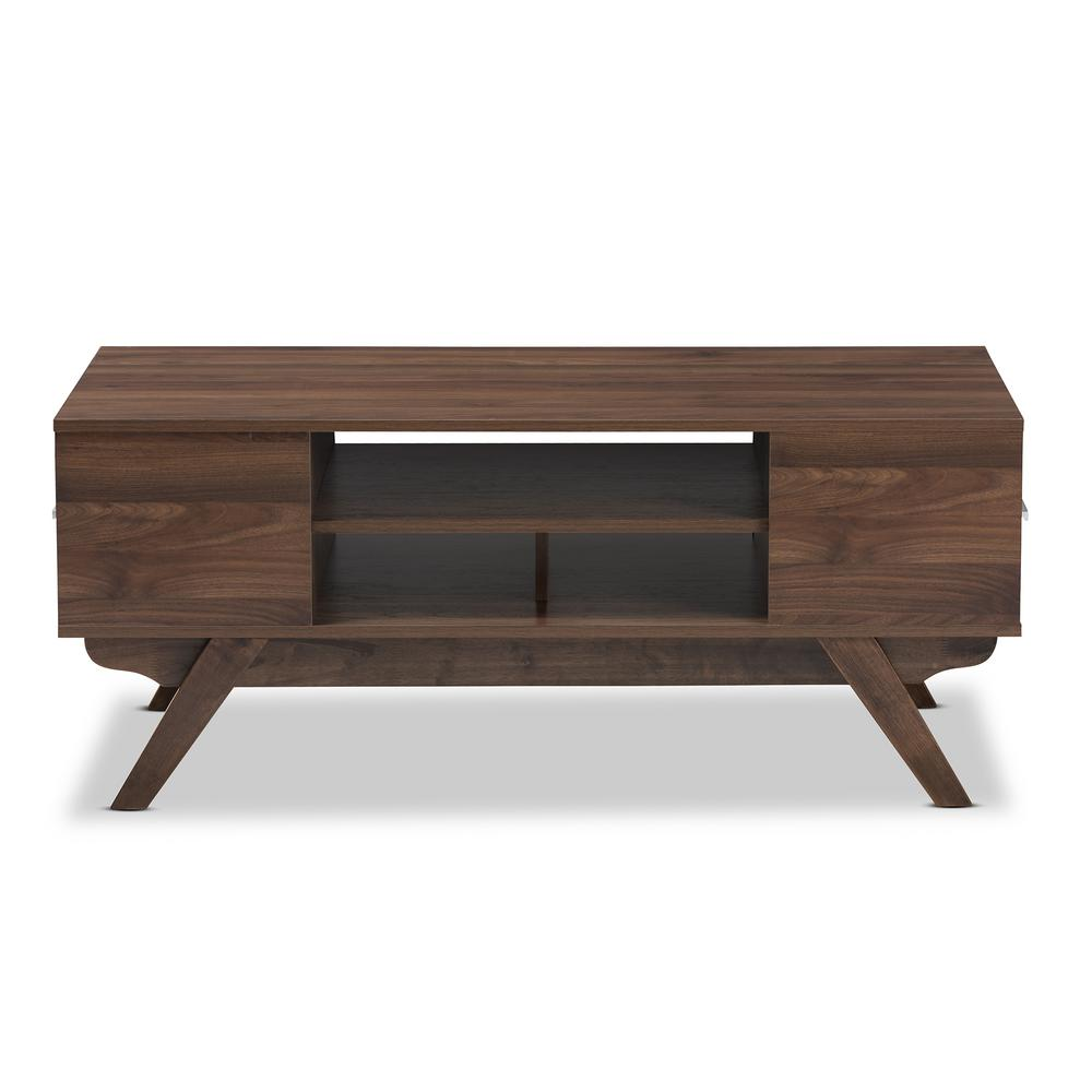 Ashfield Brown 2-Drawer Coffee Table