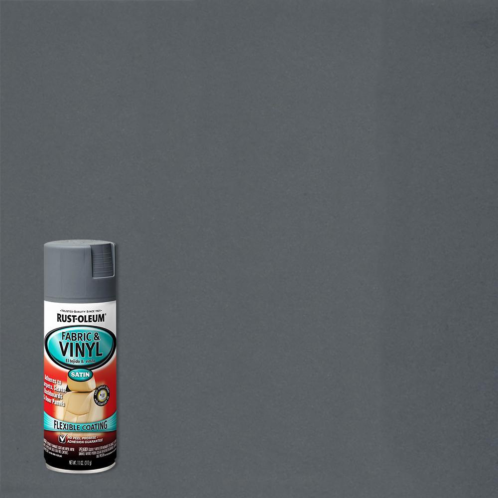 11 oz. Gray Fabric & Vinyl Spray (6-Pack)