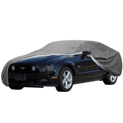 Signature Car Cover 158 in. L x 55.8 in. W x 53.16 in. H Ready-Fit Semi Glove Fits