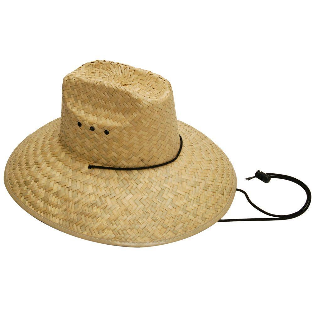 null Men's Straw Hat in Tan