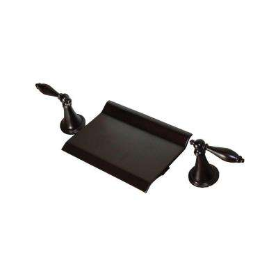 1-Handle Deck-Mount Roman Tub Faucet in Oil Rubbed Bronze