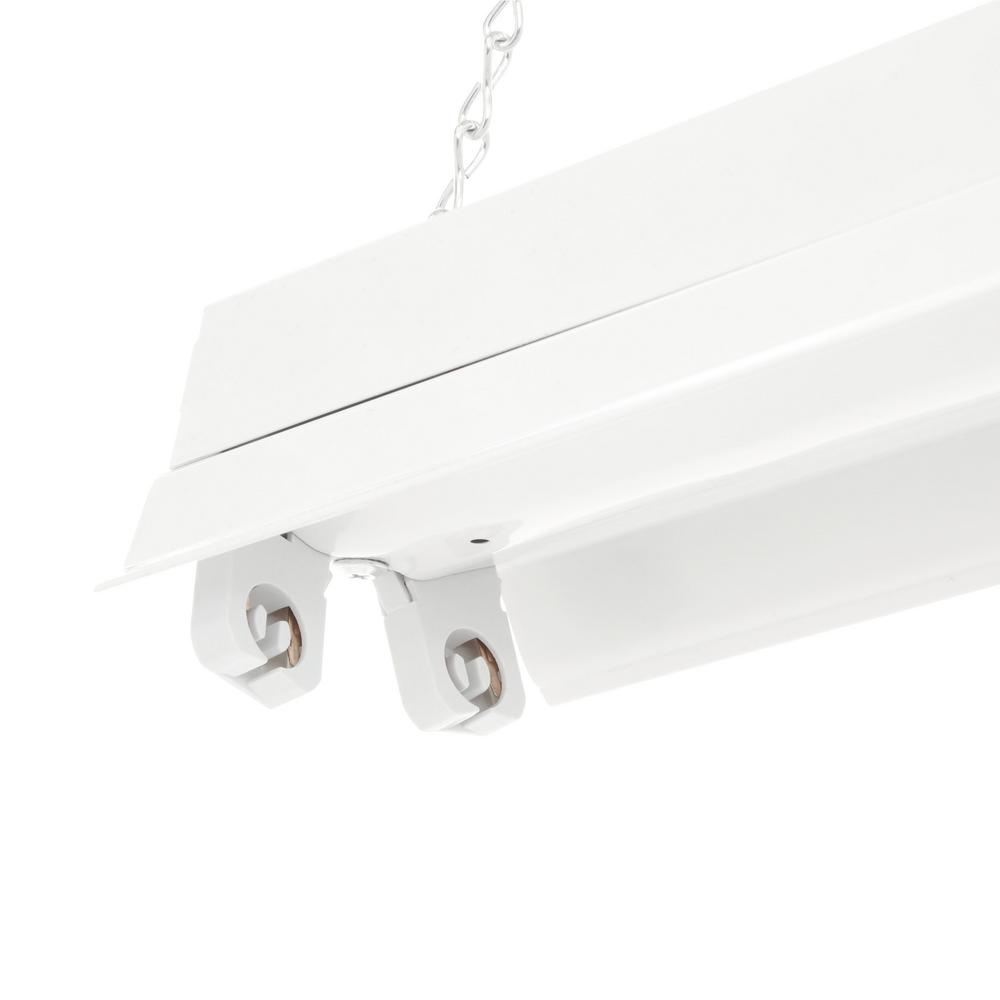 Lithonia Lighting 2 Light White Fluorescent Cold Weather