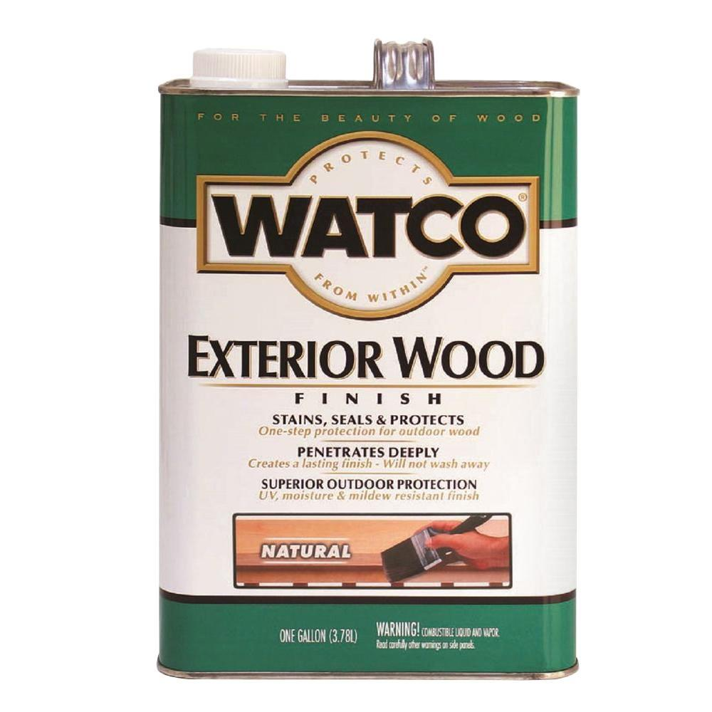 Watco 1 gal. Natural Oil Wood Finish (Case of 2)