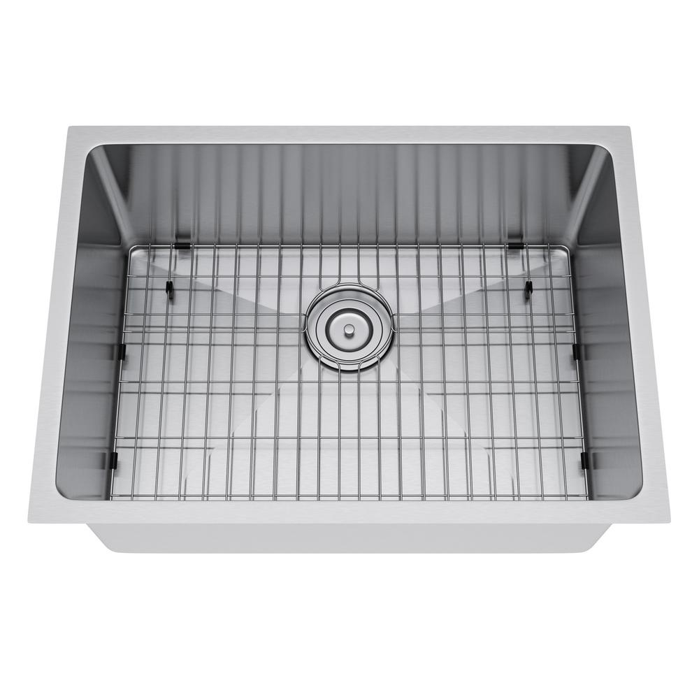 Exclusive Heritage All In One Undermount Stainless Steel 25 In