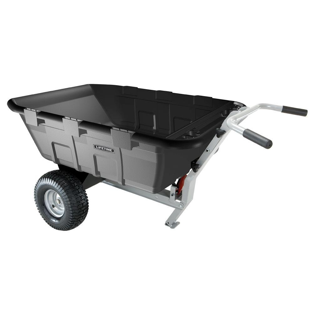garden cart home depot. 2 Way Tractor Trailer And Wheelbarrow 65009 The Home Depot Garden Cart .