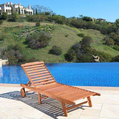 Roch Single Adjustable Patio Chaise Lounge