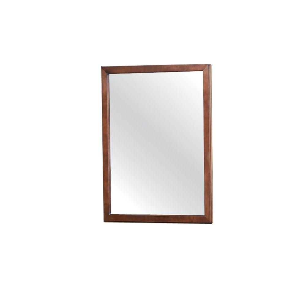 Cambridge 30 in. H x 24 in. W Wall Mirror in