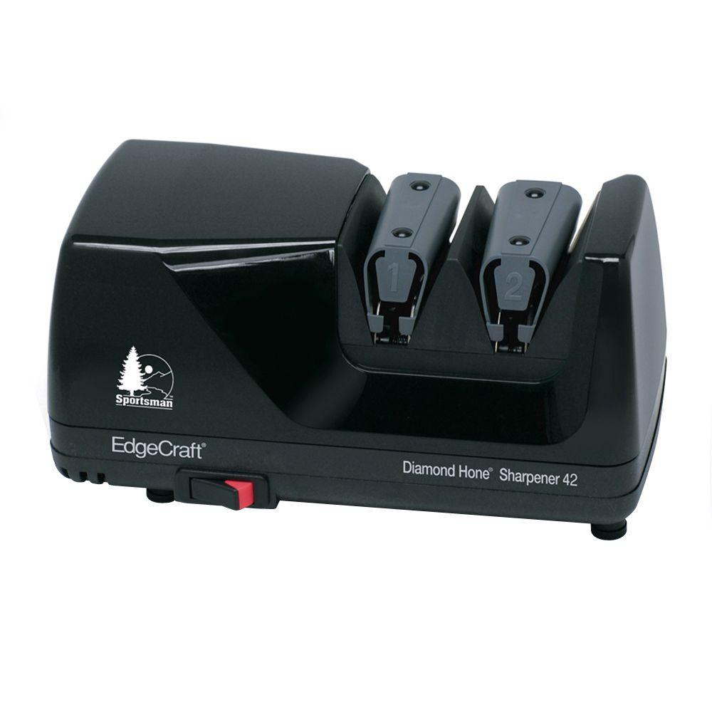 EdgeCraft M42 Diamond Hone Knife Sharpener in Black Sports