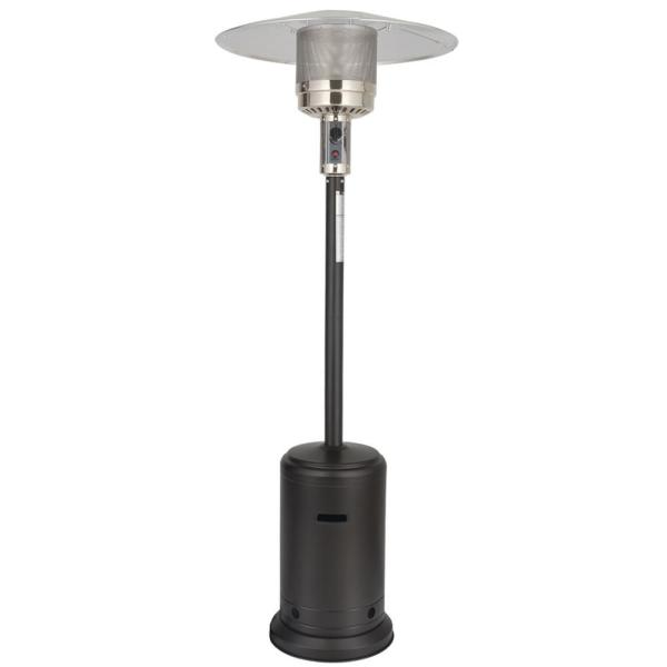 46000 BTU Brown Stand Propane Patio Heater in Mocha