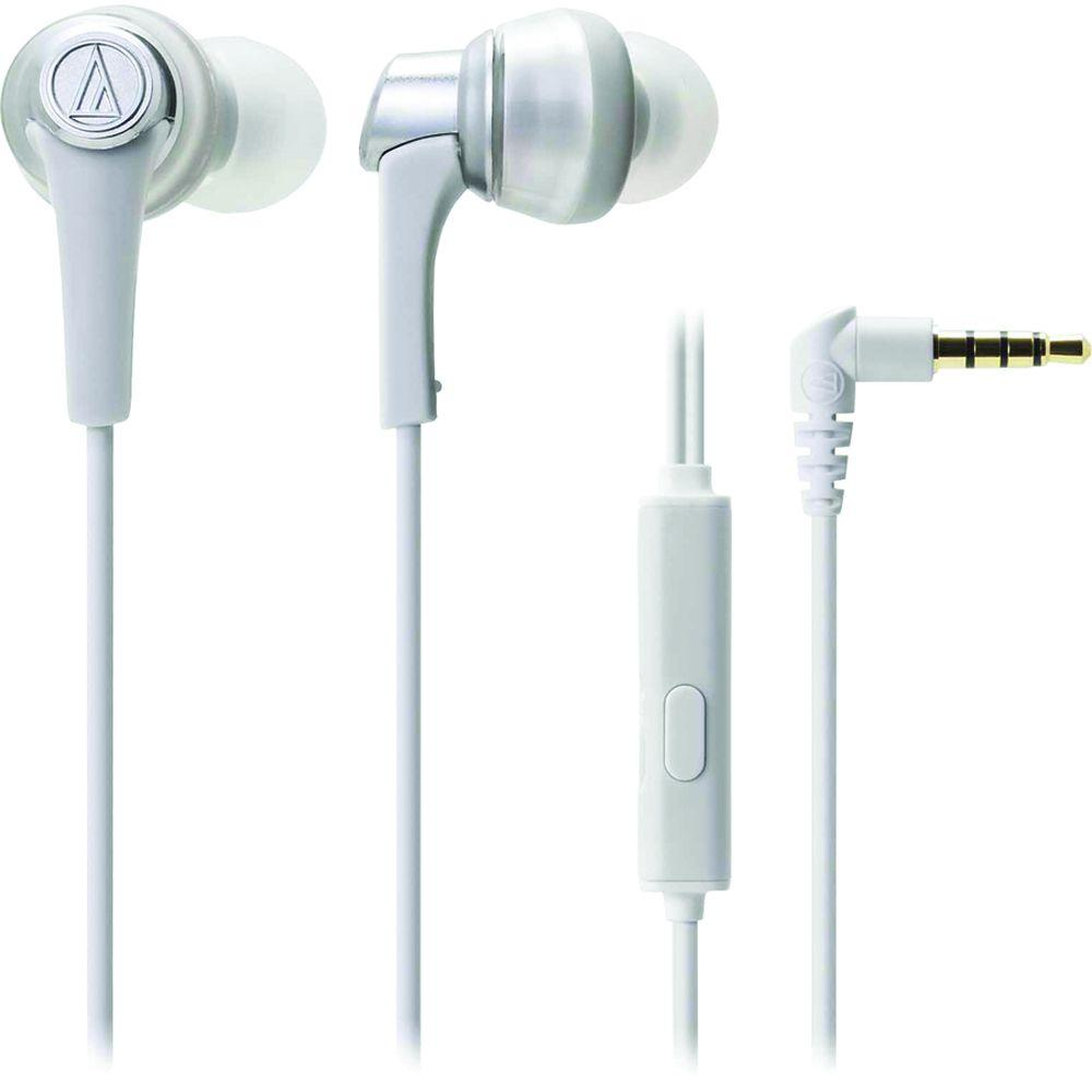 SonicPro In-Ear Headphones with In-Line Microphone and Control - White