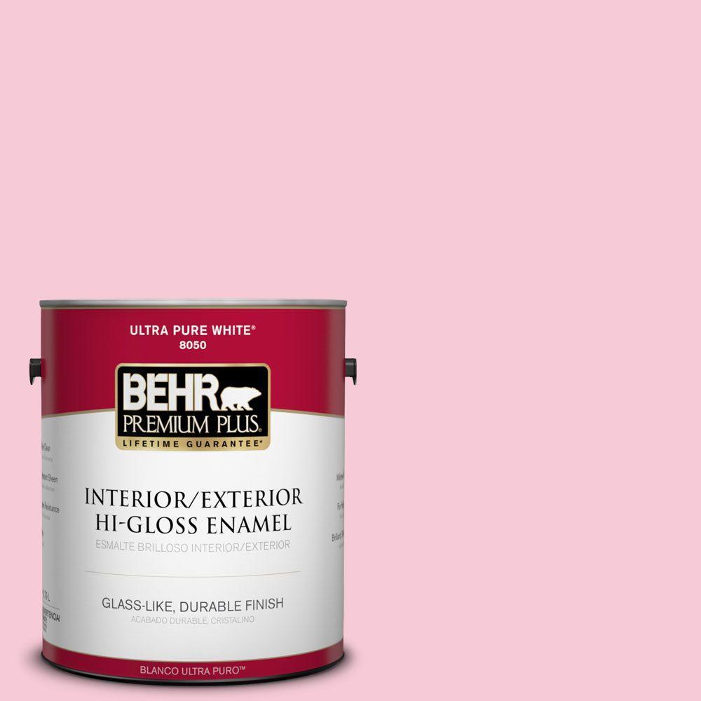 1-gal. #110A-3 Palace Rose Hi-Gloss Enamel Interior/Exterior Paint