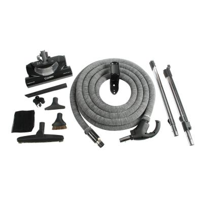 Complete Electric Powerhead Kit with Direct Connect Hose for Central Vacuums