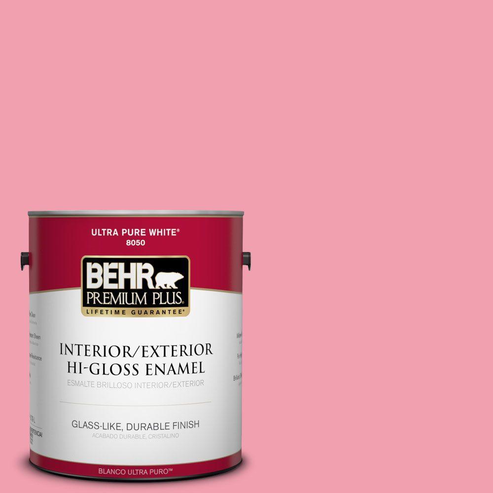 1-gal. #120B-5 Candy Coated Hi-Gloss Enamel Interior/Exterior Paint