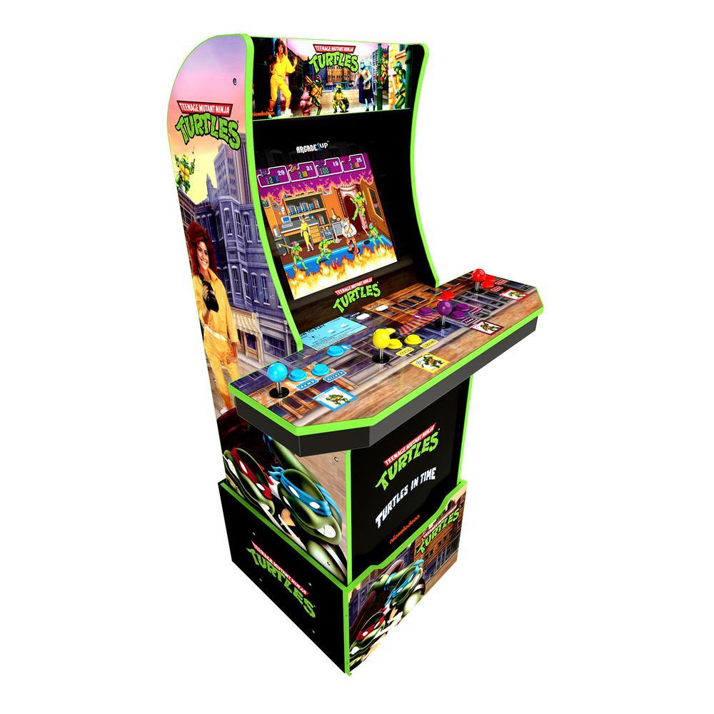 Teenage Mutant Ninja Turtles with Riser Arcade