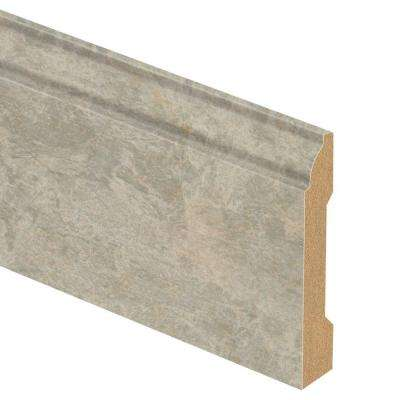 Ligoria Slate 9/16 in. Thick x 3-1/4 in. Wide x 94 in. Length Laminate Base Molding