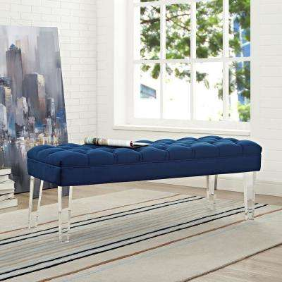 Plastic - Blue - Bedroom Benches - Bedroom Furniture - The Home Depot