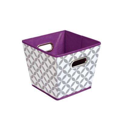Storage Bin in Pattern Grey and White(3-Pack)