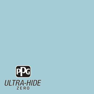 1 gal. #HDPB33 Ultra-Hide Zero Tropical Lagoon Semi-Gloss Interior Paint