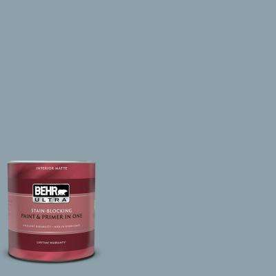 1 qt. #N480-4 French Colony Matte Interior Paint and Primer in One