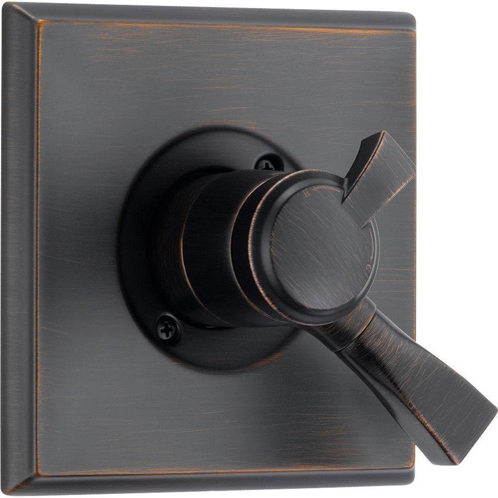 Dryden Monitor 17 Series 1-Handle Volume and Temperature Control Valve Trim