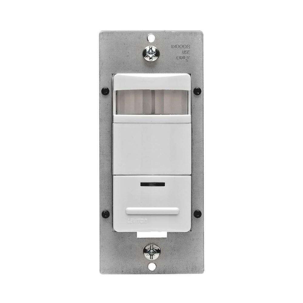 Decora Self-Adjusting Passive Infrared Occupancy Sensor, White