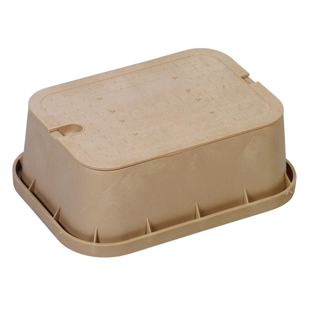 Orbit 12 in. Standard Extension Valve Box in Tan-DISCONTINUED