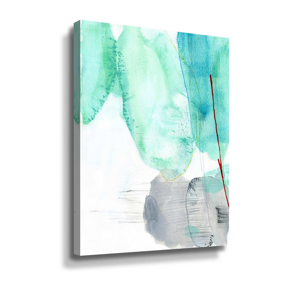 ArtWall 'Beach study II' by Elisa Sheehan Canvas Wall Art, Green This beautiful gallery wrapped canvas art is the perfect piece of wall decor for that bare wall. Display this gorgeous wall art decor in the living area with some brushed nickel sconces. Hang this artwork in the dining area for a wonderful conversation piece. Color: Green.