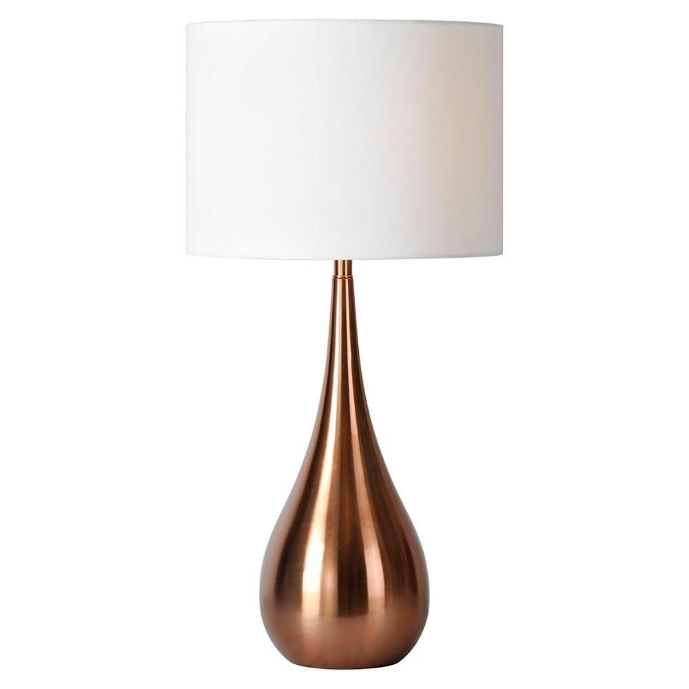 of stunning copper lacquered lamp l product lamps pair ferris shacknove img after