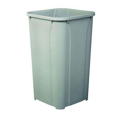 10.63 in. x 10.63 in. x 17.75 in. Replacement Trash Can