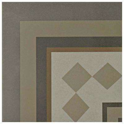 Caprice Loire 7-7/8 in. x 7-7/8 in. Porcelain Floor and Wall Corner Tile