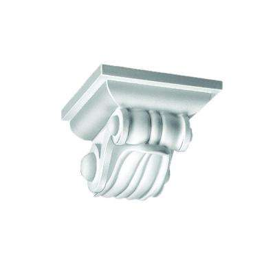 6-7/8 in. x 4-1/4 in. x 7-3/8 in. Polyurethane Ornate Bracket