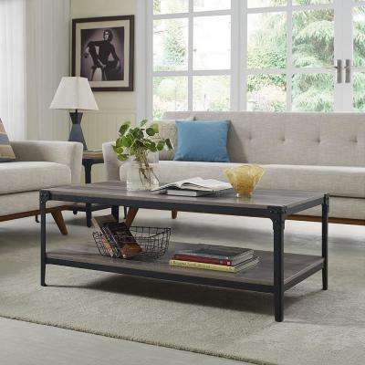 Rectangle - Walker Edison Furniture Company - Gray - Coffee Tables ...