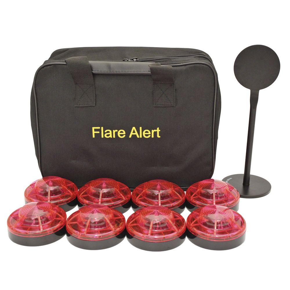 FlareAlert 1 - Watt LED Large Red Beacon Pro Kit-DISCONTINUED