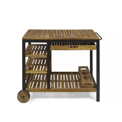 Admiralz Outdoor Patio Bar Cart