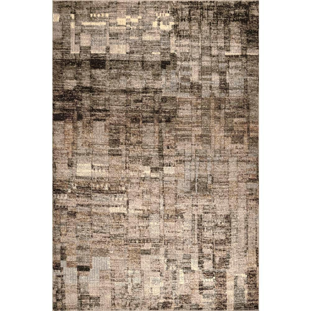 Nuloom Lilly Abstract Brown 8 Ft X 10 Area Rug