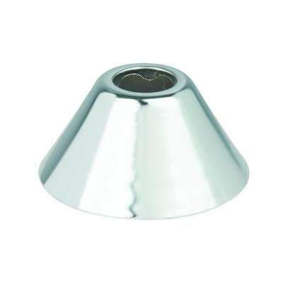 3/8 in. IPS (11/16 in. O.D.) Bell Escutcheon in Chrome (2-Pack)