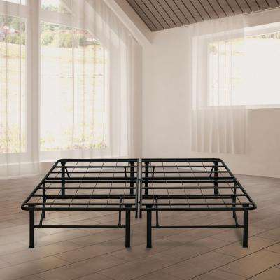 14 in. Queen Metal Platform Bed Frame