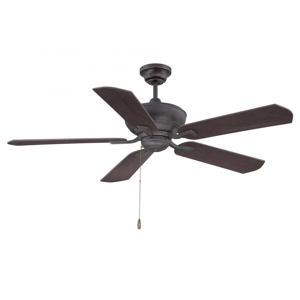 English Bronze Indoor Ceiling Fan