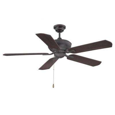 Anuran 52 in. English Bronze Indoor Ceiling Fan