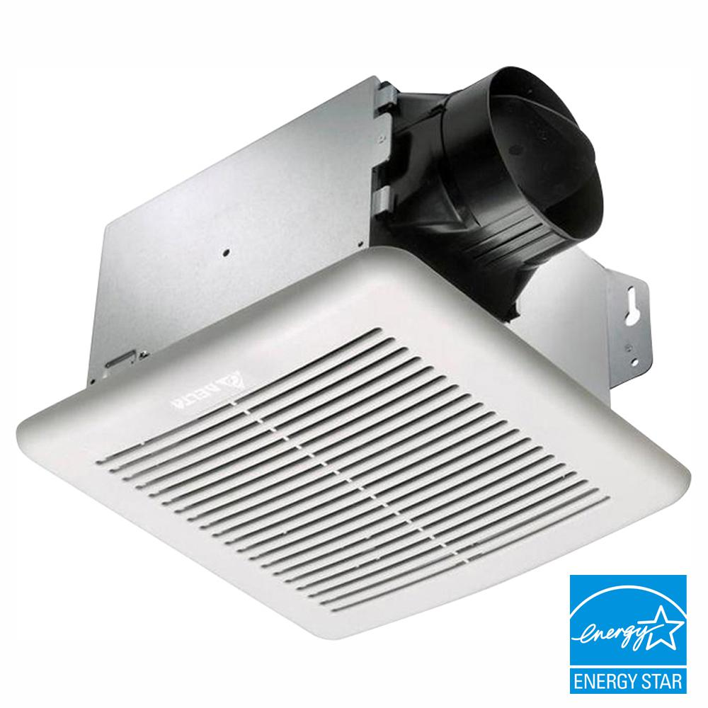 Delta Breez GreenBuilder Series 100 CFM Wall or Ceiling Bathroom Exhaust Fan, ENERGY STAR
