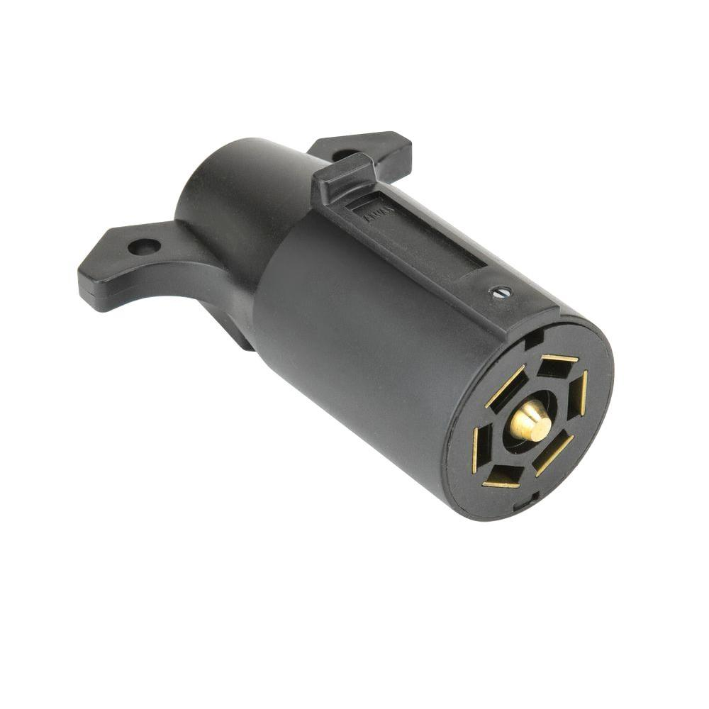 Reese Towpower 7-Way Trailer End Connector-74127 - The Home Depot
