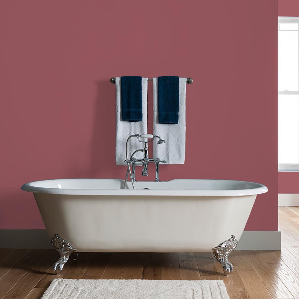 Reviews For Glidden Essentials 1 Gal Mesa Red Ppg1052 6 Eggshell Interior Paint Ppg1052 6e 01e The Home Depot