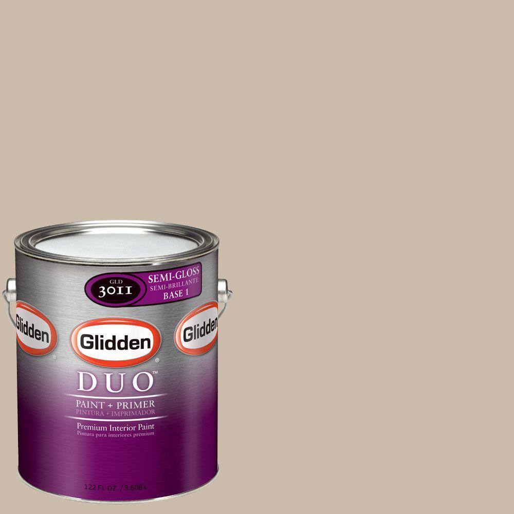 Glidden DUO Martha Stewart Living 1-gal. #MSL206-01S Buckwheat Flour Semi-Gloss Interior Paint with Primer-DISCONTINUED