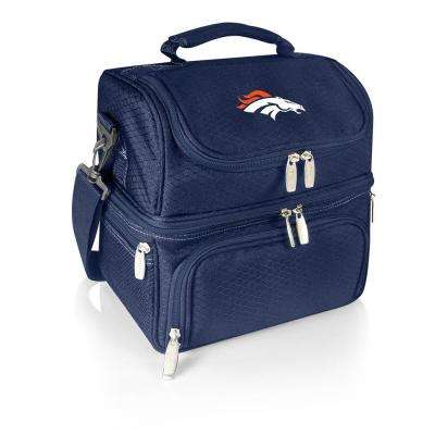 Pranzo Navy Denver Broncos Lunch Bag