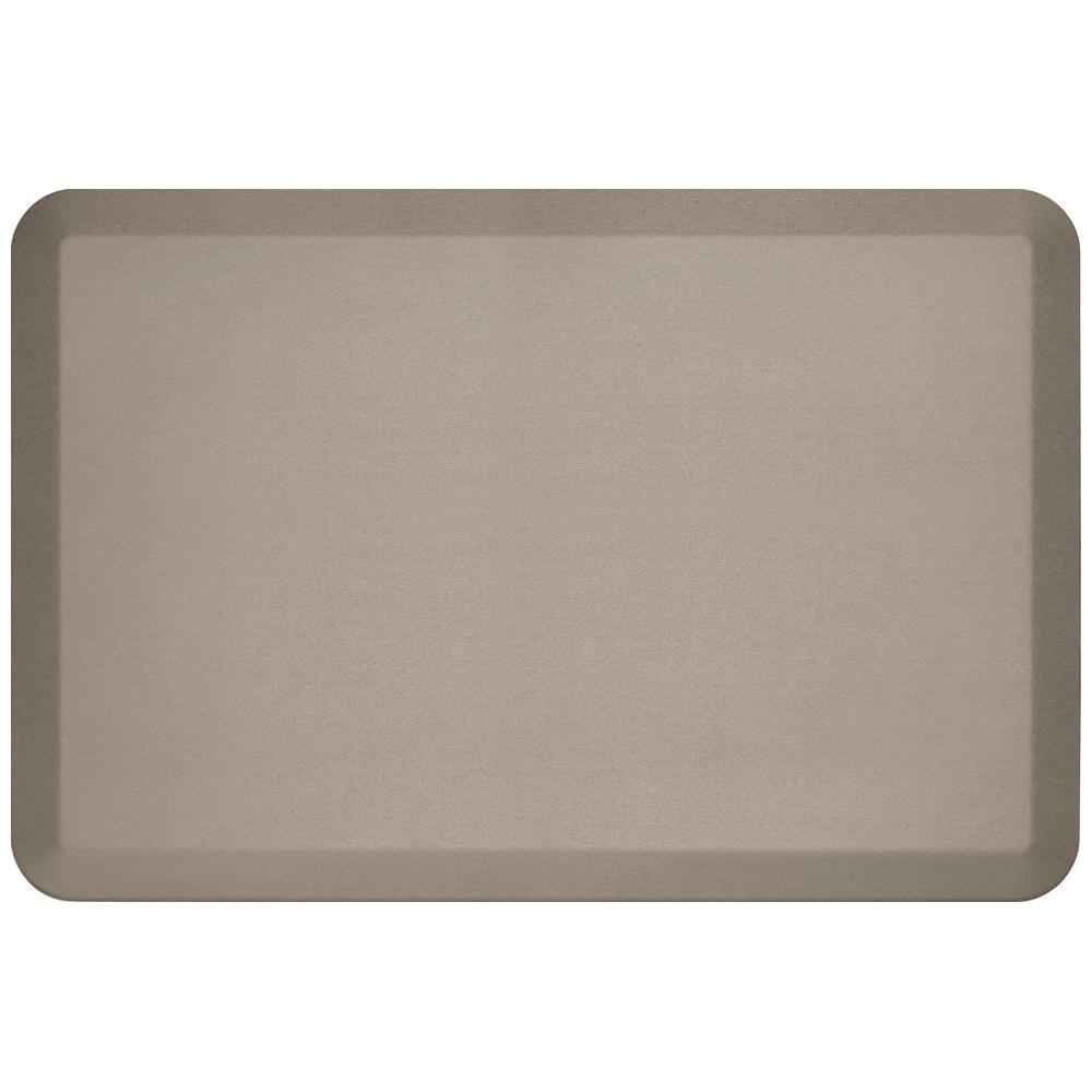 Newlife Pro Grade Brushed Stone 24 In X 36 In Comfort