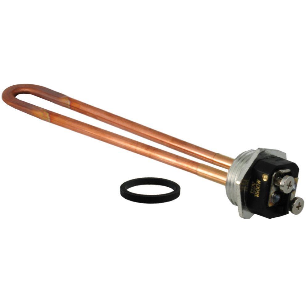120-Volt, 1500-Watt Copper Heating Element for Electric Water Heaters