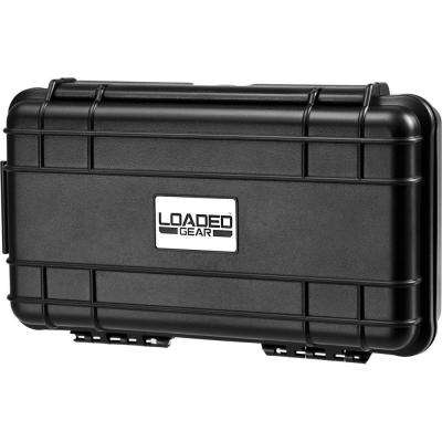 HD-50 2.75 in. Loaded Gear Hard Tool Case in Black